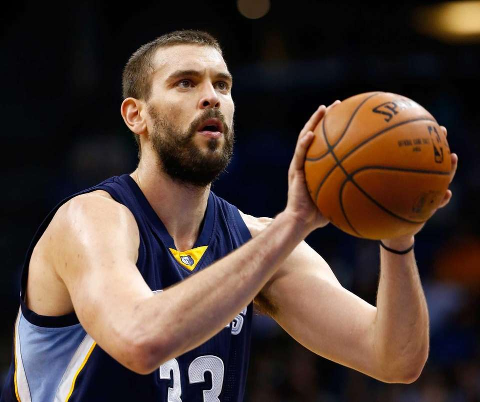 Marc Gasol Memphis Grizzlies center