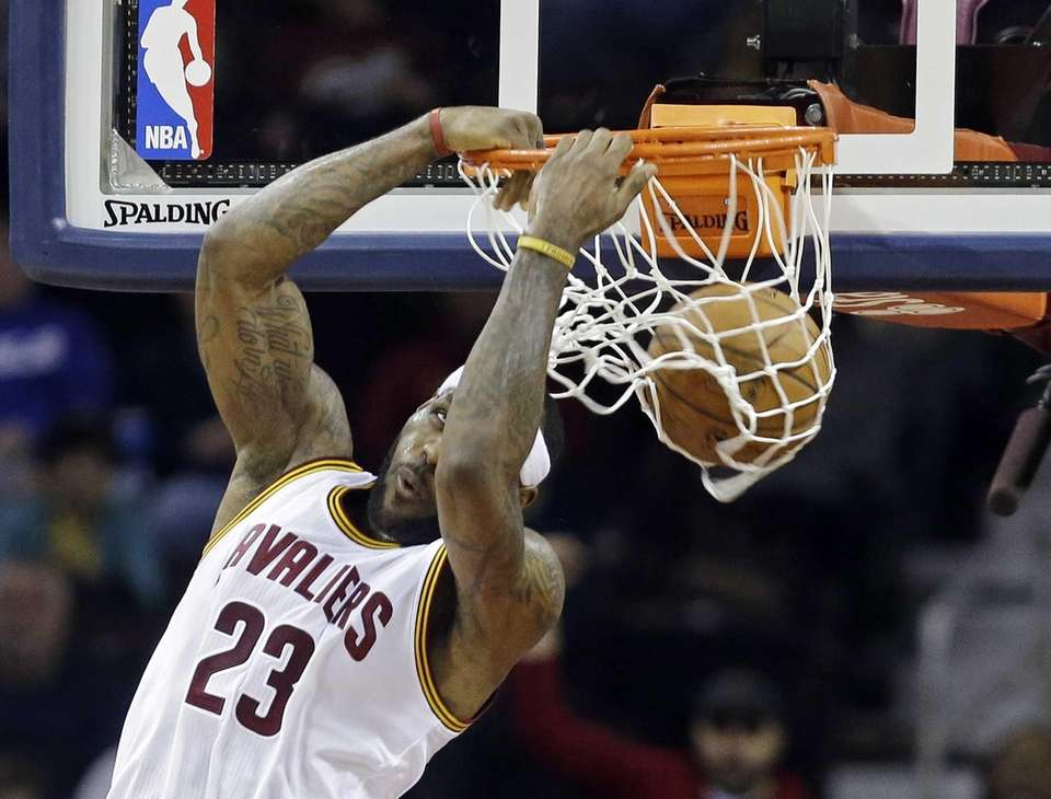 LeBron James Cleveland Cavaliers forward