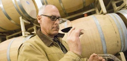 David Page, vintner at Shinn Estate Vineyard in