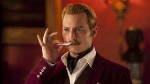 Mortedecai (2015): Depp takes the title role in