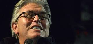 WFAN host Mike Francesa is seen onstage during