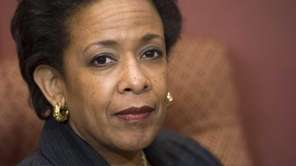 Loretta Lynch, nominee for US Attorney General, attends