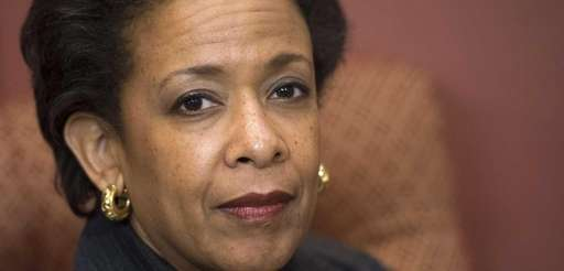 Loretta Lynch, nominee for U.S. Attorney General, attends
