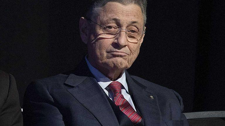 New York Assembly Speaker Sheldon Silver is shown