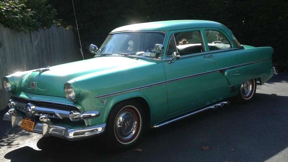 In The Garage 1954 Ford Customline Newsday Cars For Sale