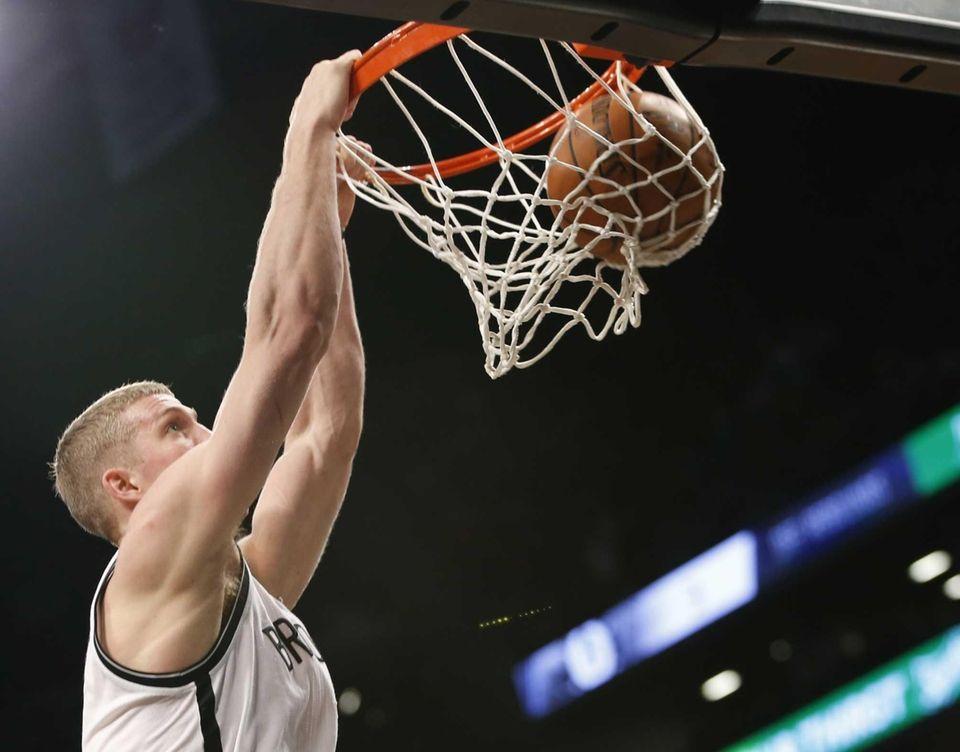Mason Plumlee Nets forward