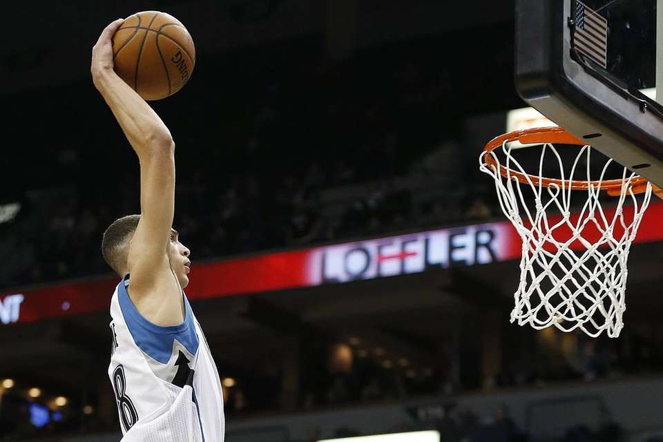 Zach LaVine Minnesota Timberwolves guard