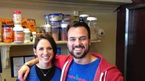 Brittany Cacossa and Nick Pace are co-owners (with