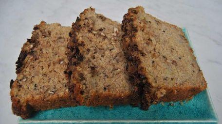 Quinoa adds protein and fiber to banana bread.
