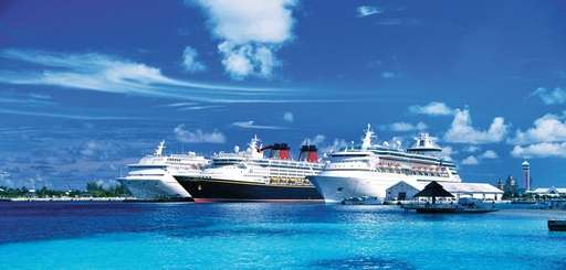 Cruise ships offer fun for the whole family.