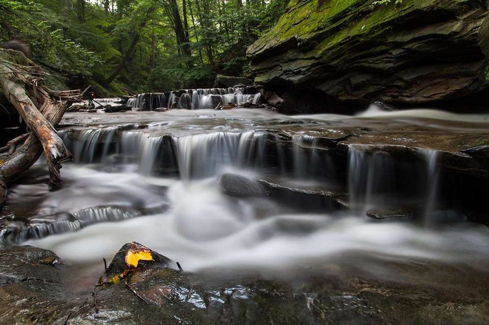 Cuyahoga Valley National Park, a short distance from
