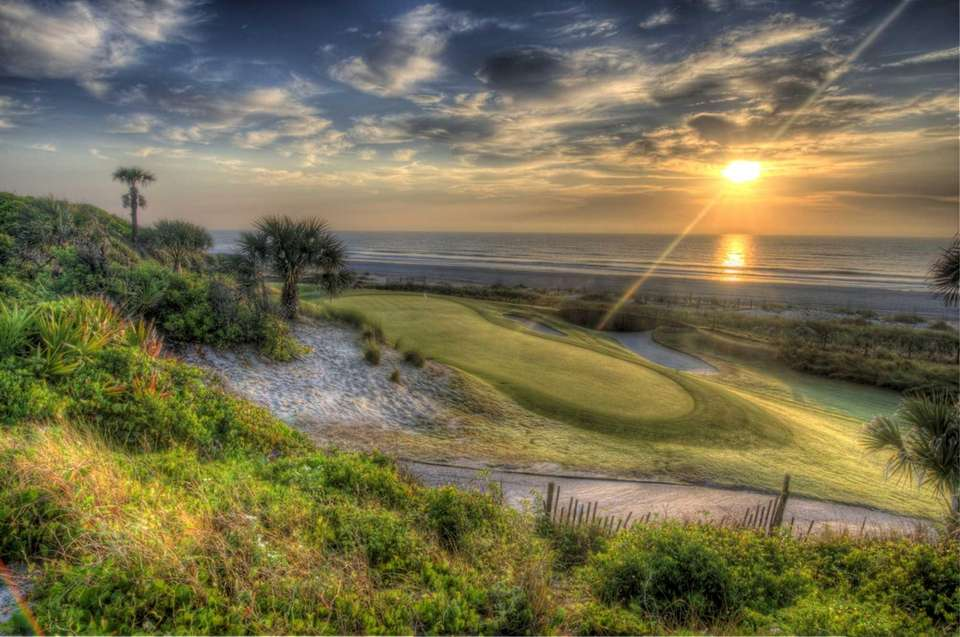 Golfing is a big attraction on Amelia Island