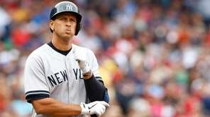 Alex Rodriguez did not play in 2014, spending