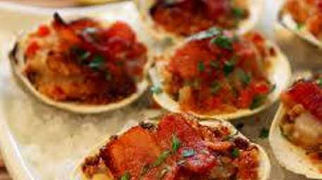 Clams casino are on the menu at the