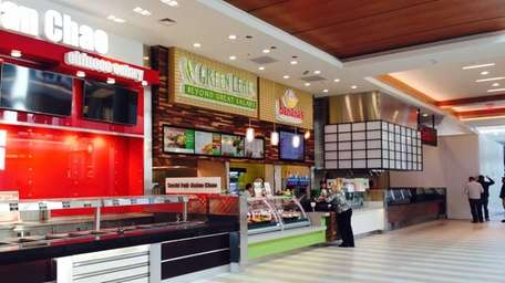Green Leaf's and Bananas is the first eatery