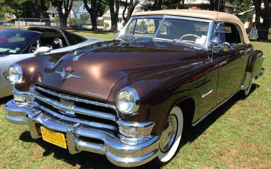 This 1951 Chrysler Imperial convertible is one of