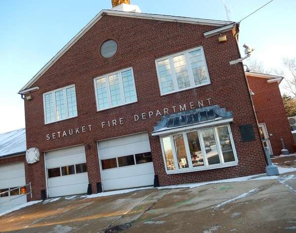 Setauket Firehouse in Setauket. (Jan. 13, 2015)