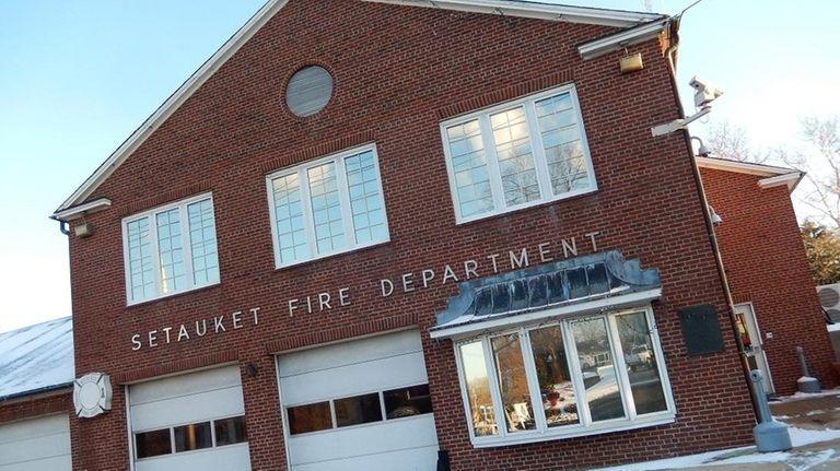 The Setauket Fire Department in Setauket is shown
