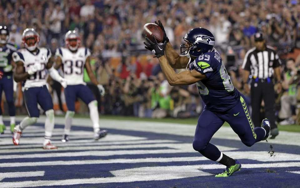 Seattle Seahawks wide receiver Doug Baldwin catches a
