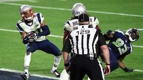 Malcolm Butler of the New England Patriots makes