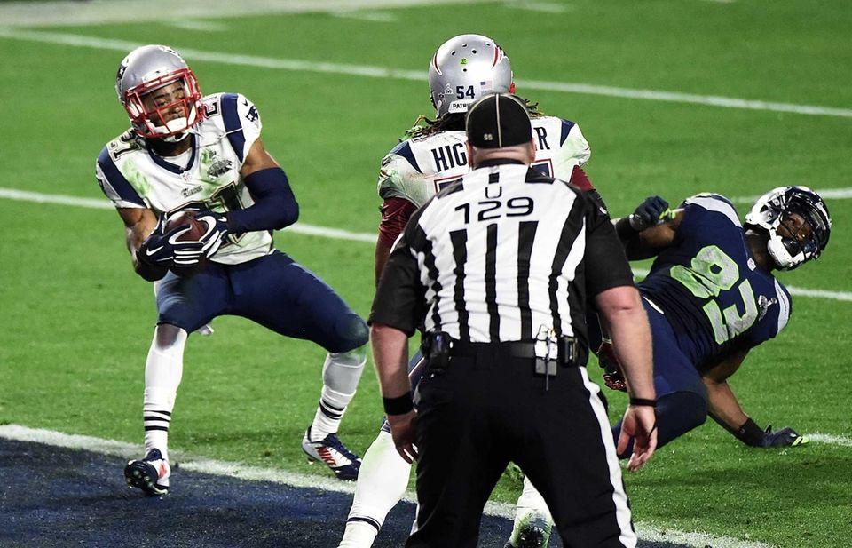 Feb. 1, 2015 Result: Patriots 28, Seahawks 24