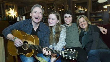 Brady Rymer and family, Daisy, 16, Gus, 18,