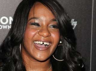 Bobbi Kristina Brown attends the premiere party for