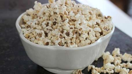 This popcorn recipe is simple, with just enough
