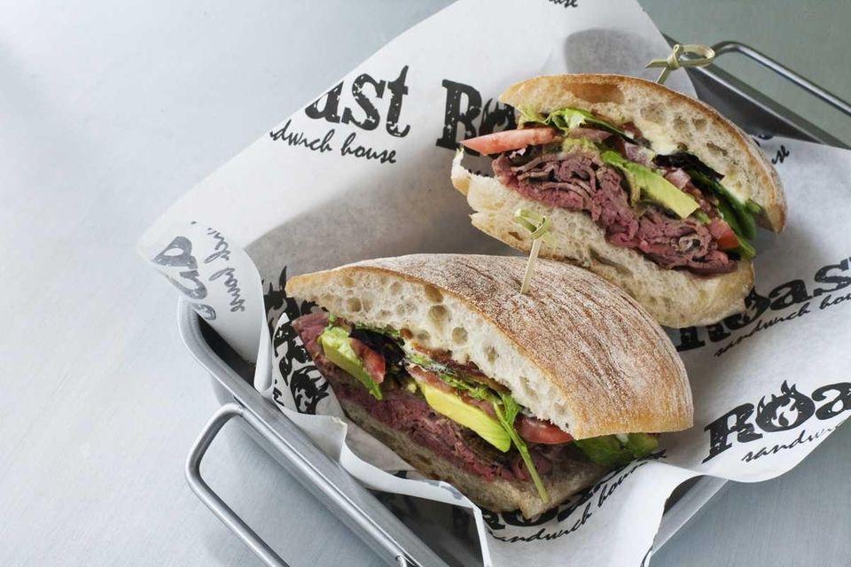 Roast Sandwich House, Melville: A California BLT featuring