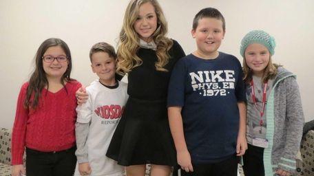 Kidsday reporters from Hampton Bays elementary school met