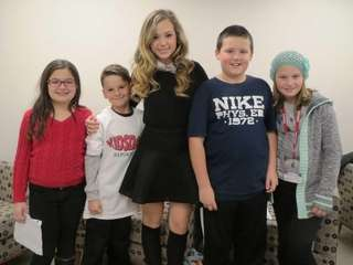 Kidsday reporters from Hampton Bays elementary school met