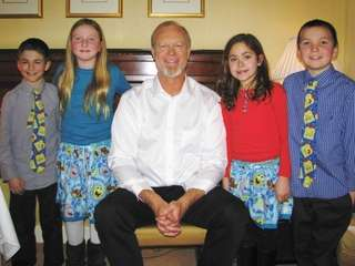 Kidsday reporters interviewed actor Bill Fagerbakke, the voice