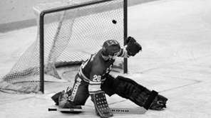 In this 1980 file photo, Soviet goalie Vladislav