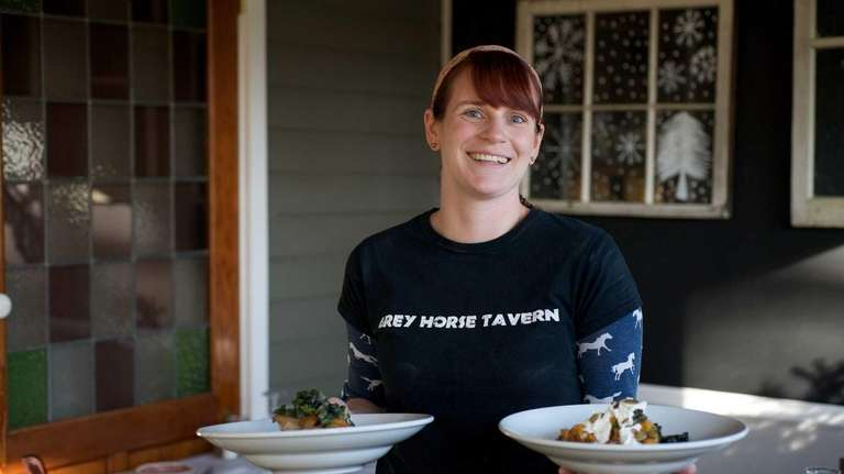 Executive chef Meredith Machemer of Grey Horse Tavern