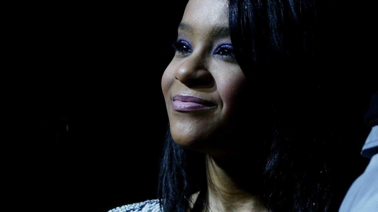Whitney Houston's daughter Bobbi Kristina Brown attends a