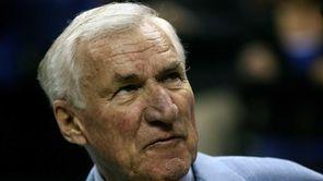 Former North Carolina head coach Dean Smith attends