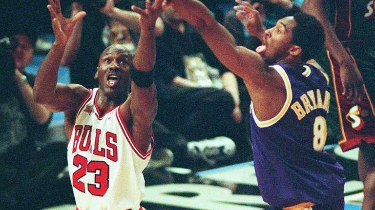 Larry Bird remembers when Michael Jordan took on Kobe Bryant