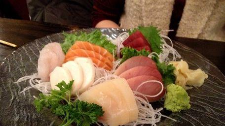 Fine sashimi is served at Hibachi Sushi Ya