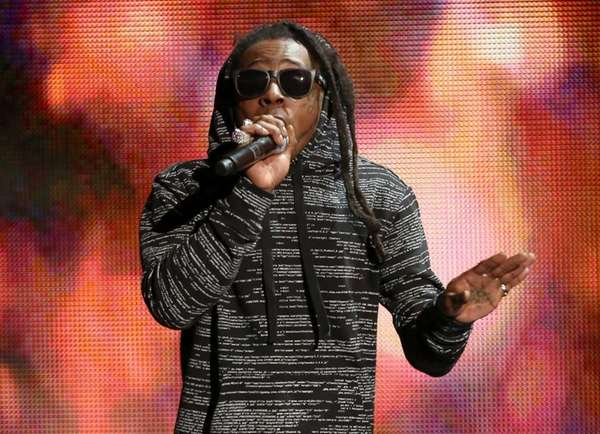 Lil Wayne performs at the 42nd annual American