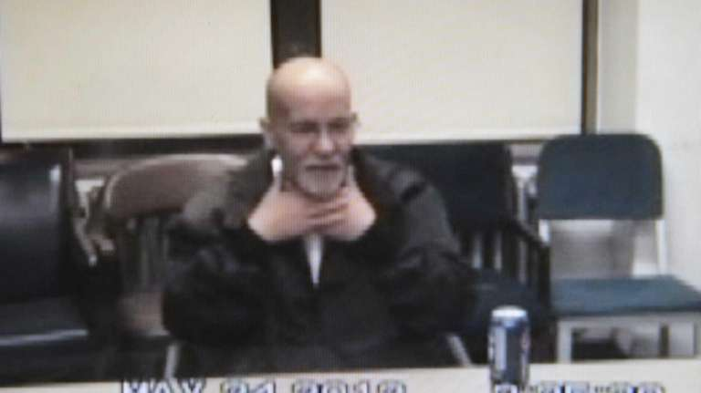 A frame grab of Pedro Hernandez confessing to