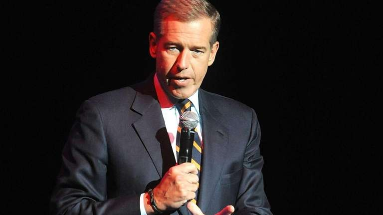 Brian Williams speaks at the 8th Annual Stand