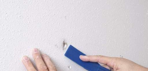 Repairing nail pops in drywall is not too