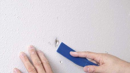 Repairing nail pops in drywall is not too