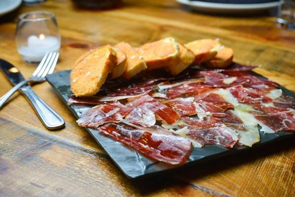 Jamon Pata Negra, the great Iberico ham from