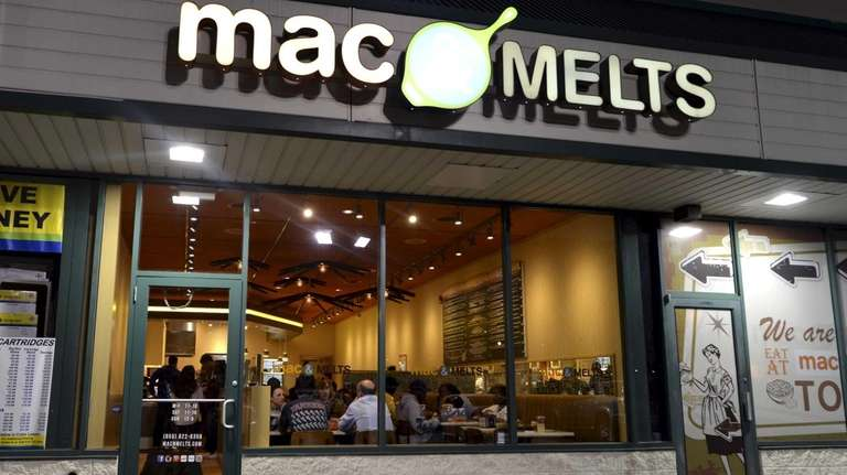 Mac & Melts is a casual dining spot