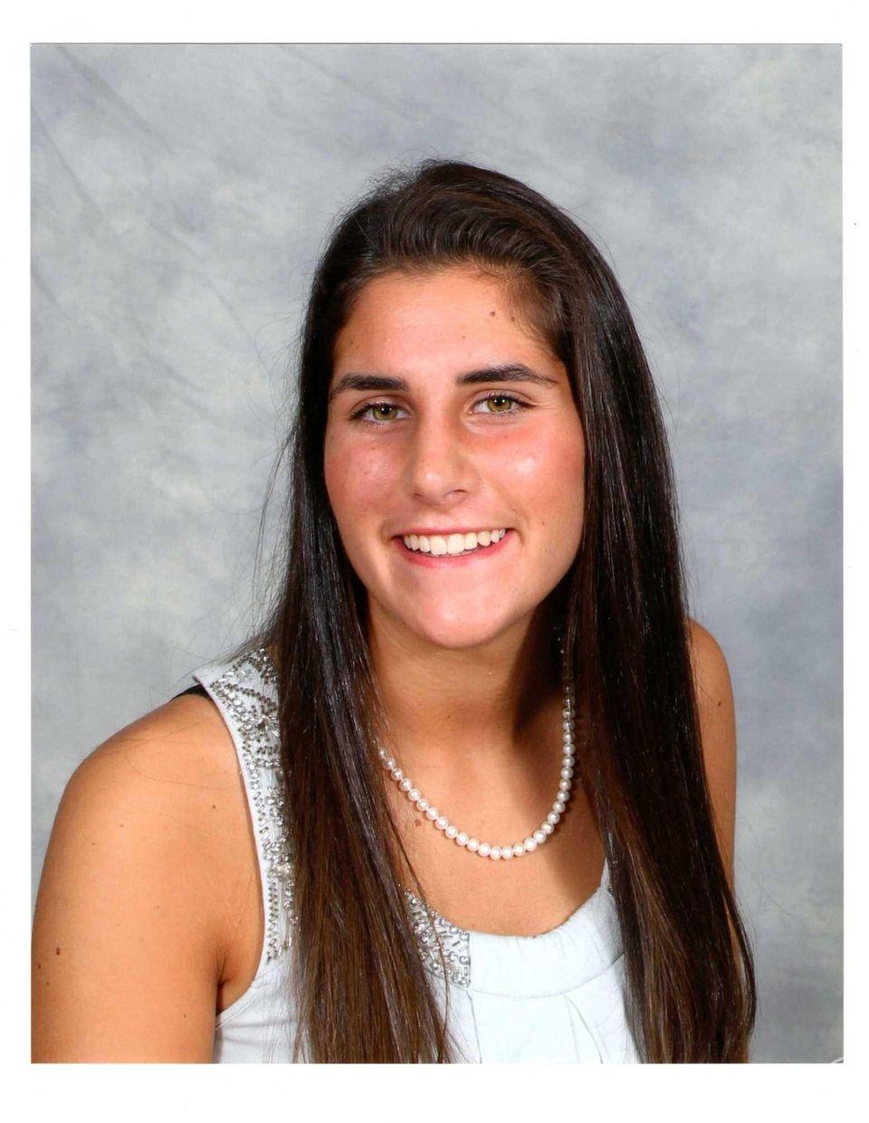 Kara Patrovic, a junior at Miller Place High
