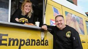 Roy and Kathleen Pelaez, co-owners of Island Empanada,