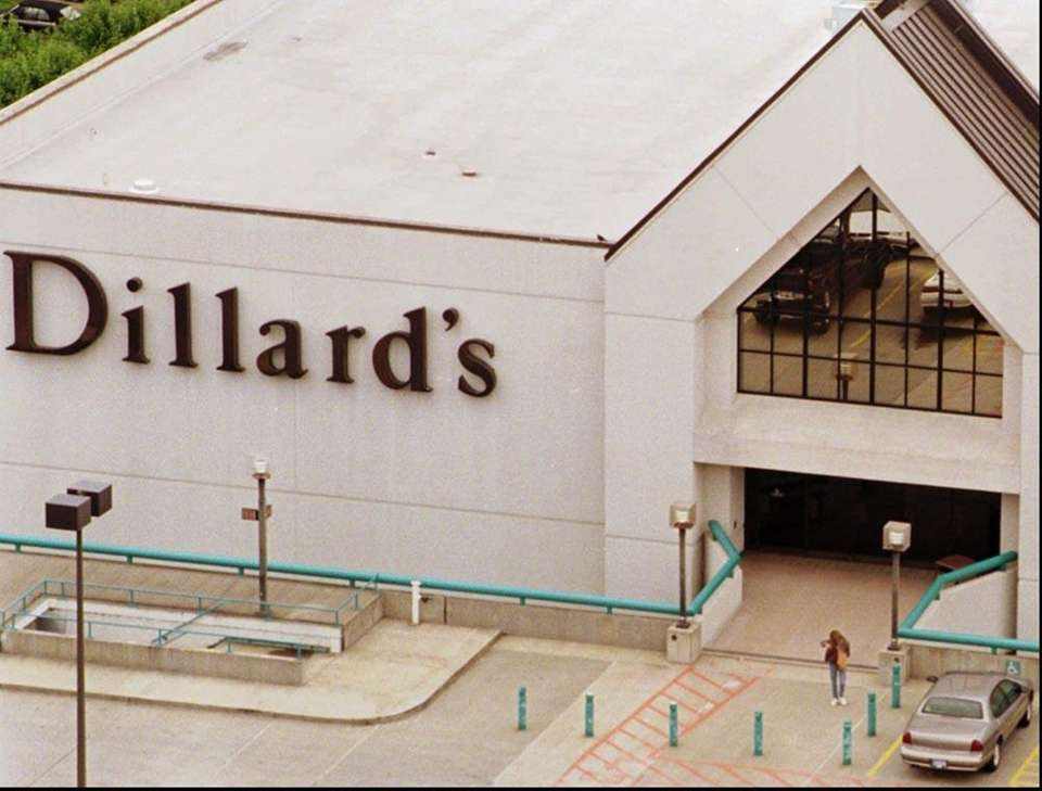 Dillard's, an upscale department store chain, is located