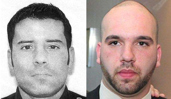 Former Nassau police Officer Anthony DiLeonardo and cabdriver