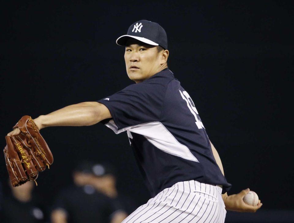 Masahiro Tanaka avoided surgery on the slight tear